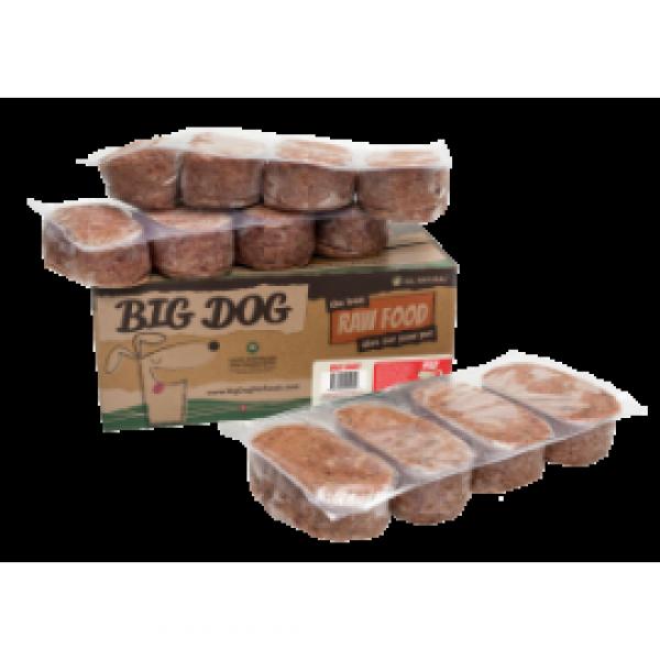 Big Dog 急凍狗糧牛配方3kg ( 12件x 250g )