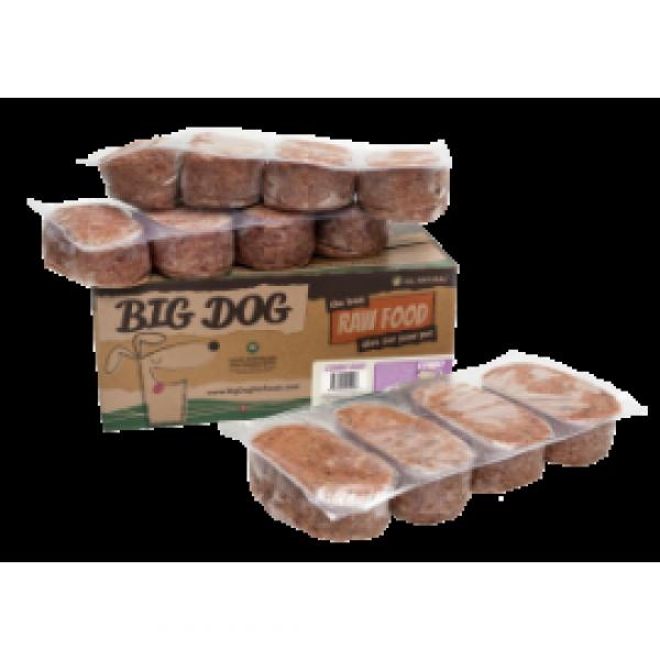 Big Dog 急凍狗糧四寶配方3kg ( 12件x 250g )