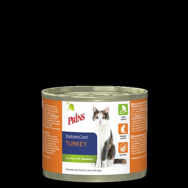 PRINS 罐頭貓糧火雞口味 200g