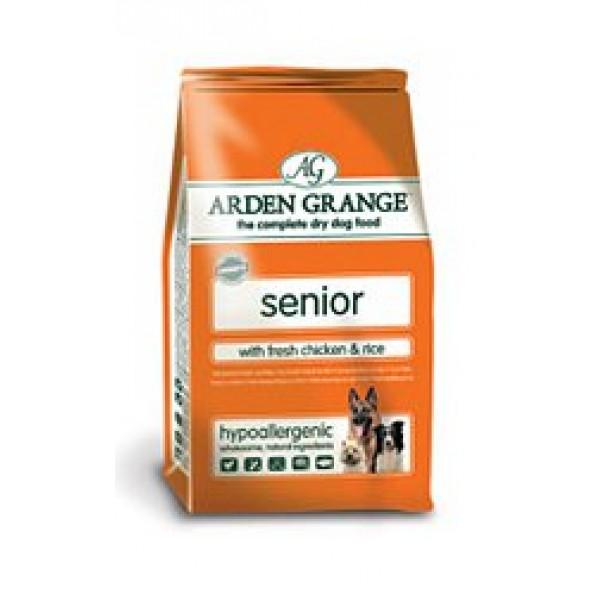Arden Grange 無穀物鮮雞肉米飯老年犬糧