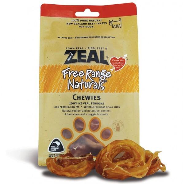 "Zeal ""Natural Pet Treats"" - 熱愛天然紐西蘭牛仔筋圈 125g"