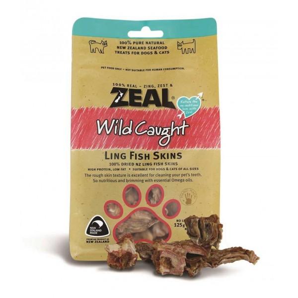 Zeal (Natural Pet Treats) - 熱愛天然紐西蘭鱈魚皮 (125g)